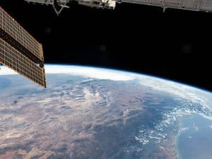 Earth from the International Space Station. Source NASA/ ISS