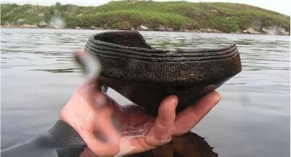 man made island in scotland