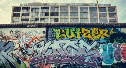 berlin wall, iron curtain, cold war