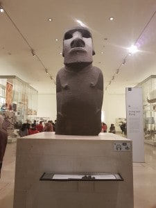 Moai at British Museum