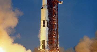 Apollo 11 Launch Aboard the Saturn V Rocket / NASA
