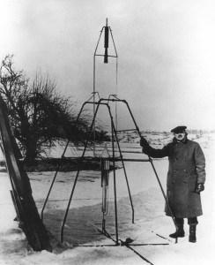 Robert Goddard and his rocket