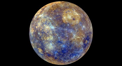 Colours of Mercury - Credit NASA