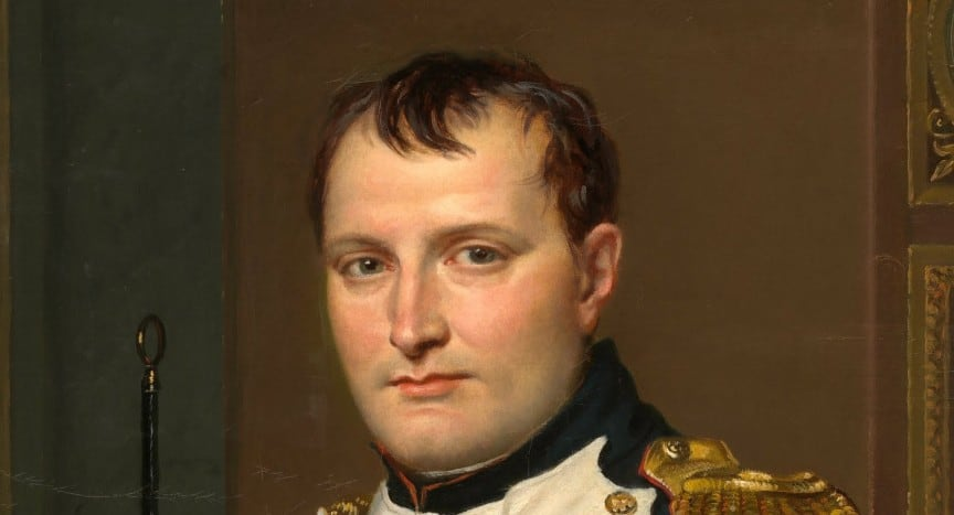 Napoleon by Jacques Louis David