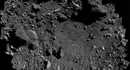Nightingale Site on Asteroid Bennu for soil collection