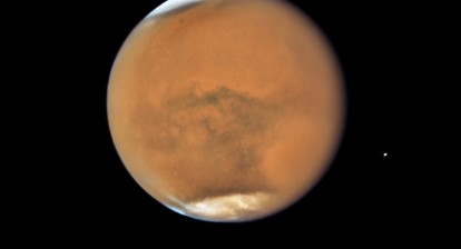 Photo of Mars by Hubble Telescope. Source: NASA, ESA, and STScI