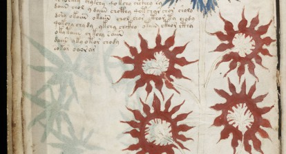 Voynich Manuscript from Beinecke Rare Book & Manuscript Library, Yale University