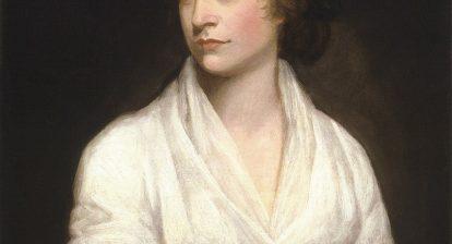 Mary Wollstonecraft painting by John Opie 1797