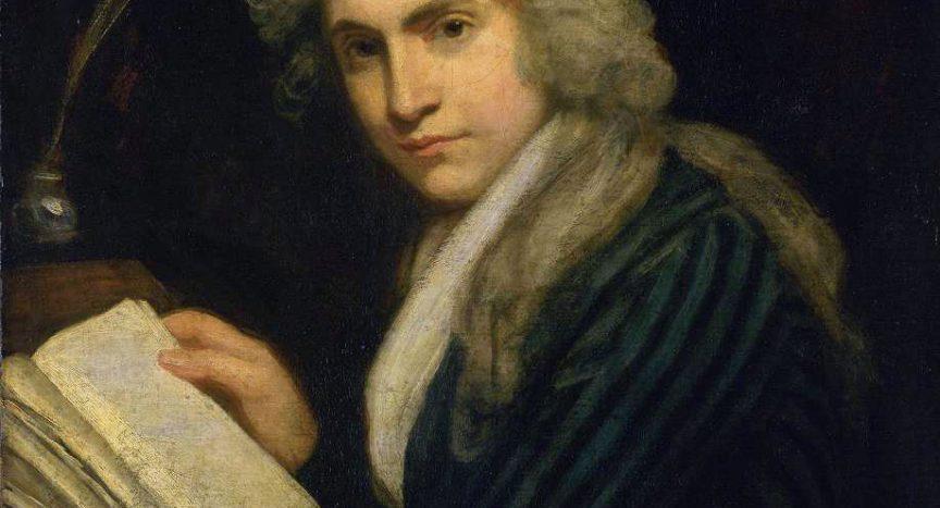 Mary Wollstonecraft by John Opie 1790-1791