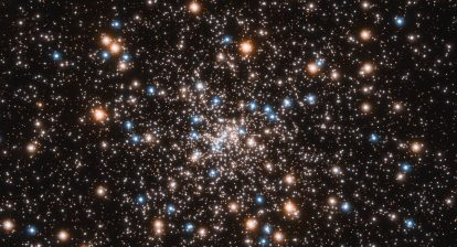 Hubble finds concentration of small black holes at centre of globular cluster